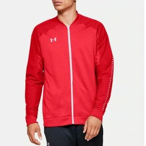 UNDER ARMOUR UA Knit Warm-Up Red Jacket Mens 4XL